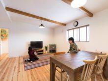 北九州市八幡西区「ナチュラルなキューブスタイルの家」