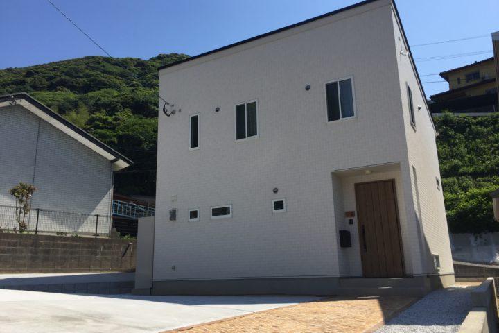北九州市門司区「家族がつながる大きな吹き抜けの家」