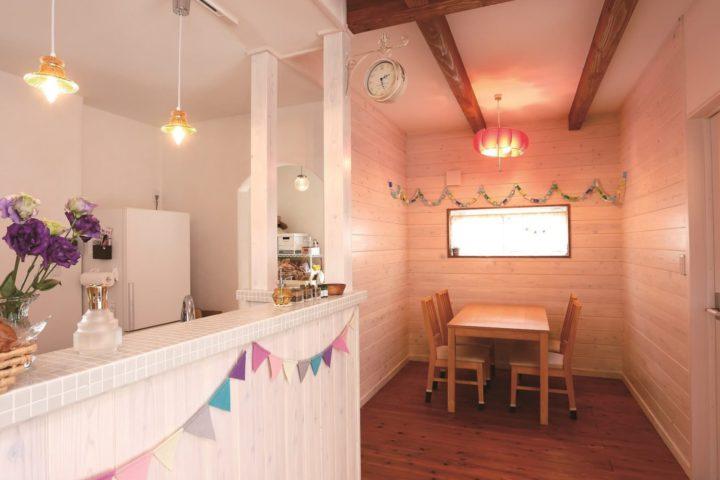 北九州市八幡東区「フレンチカントリーのかわいい家」