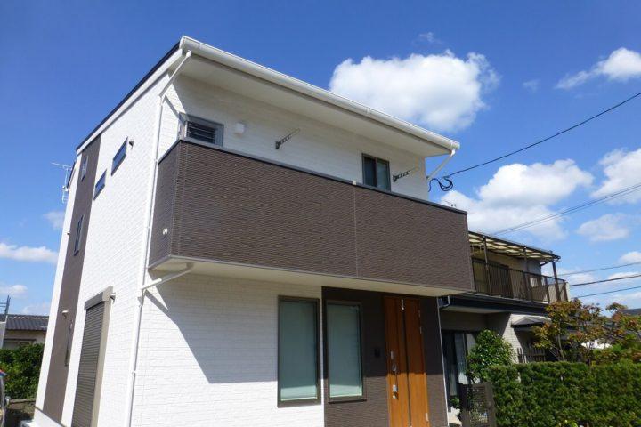 北九州市門司区「狭小地に建つ二世帯住宅」