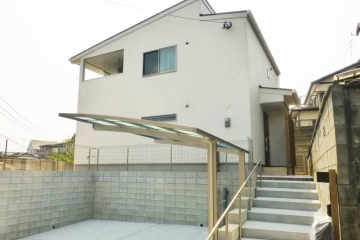 北九州市小倉南区「桧の大黒柱がある家」