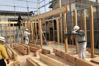 新築工事始まりました