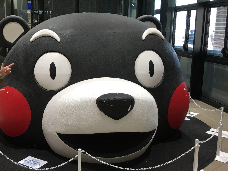 九州新幹線 くまモンとご対面✨