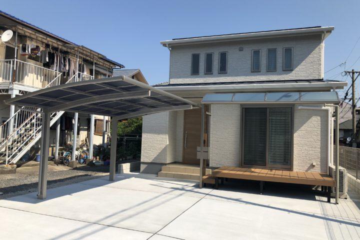 北九州市門司区「無印の家具が似合うシンプルな家」