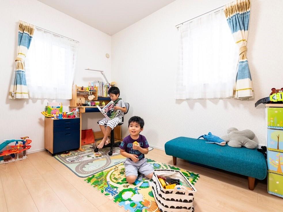 平屋の子ども部屋
