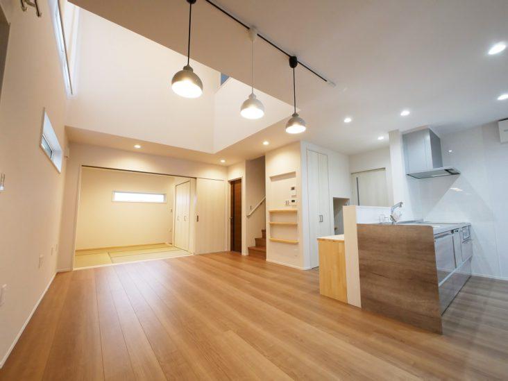 北九州市八幡西区「1階にファミリークローゼットがある家」