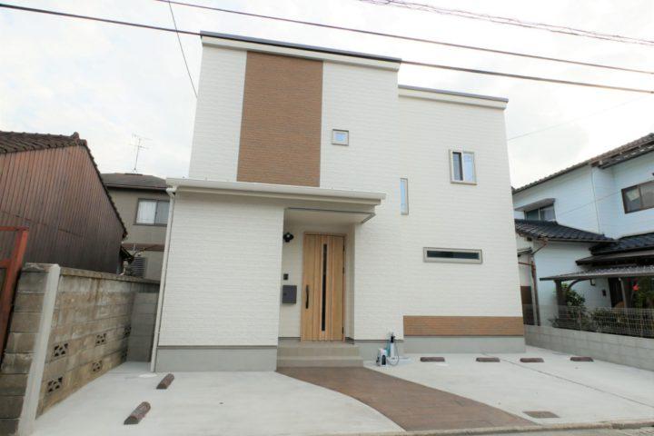 北九州市小倉北区「収納にこだわったシンプルモダンな家」