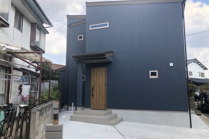 北九州市小倉南区「24坪に建つ収納力抜群の家」