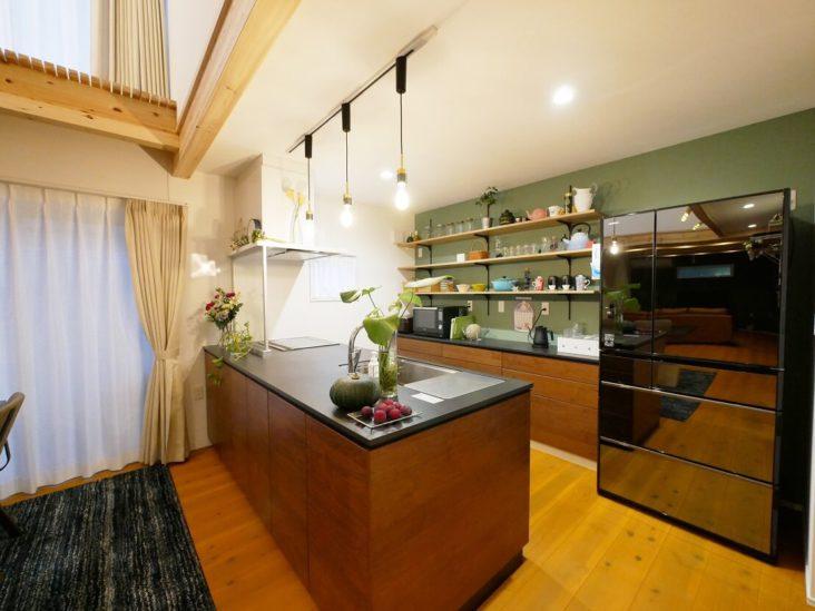 北九州市小倉北区「北欧×男前MIXのお洒落な家」
