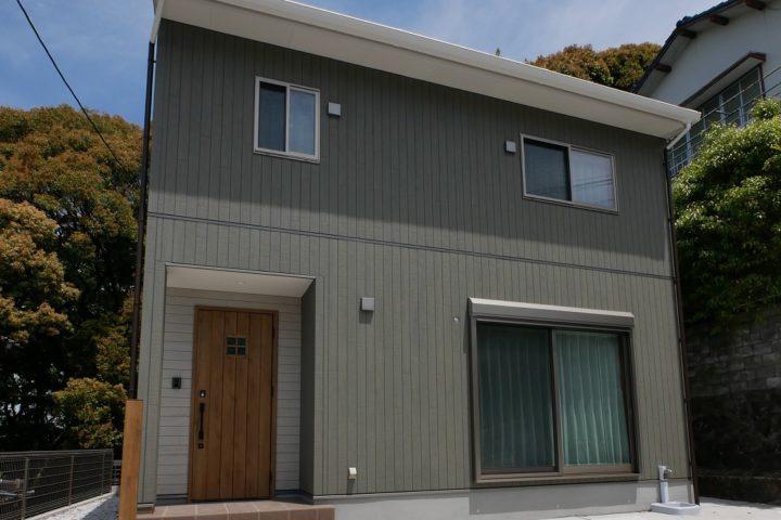 北九州市小倉北区「コンパクトなカフェスタイルの家」