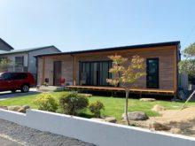北九州市八幡東区「リビングと庭をつなぐウッドデッキのある平屋」