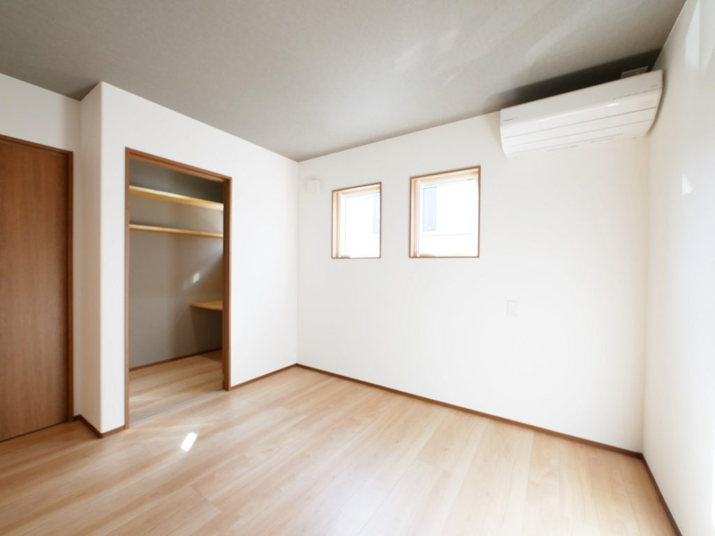 イーホームが建てた平屋の寝室2