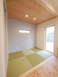北九州市小倉南区ガルバの平屋の家の和室