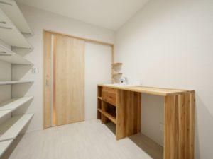 北九州市小倉南区ガルバの平屋の家の洗面脱衣所