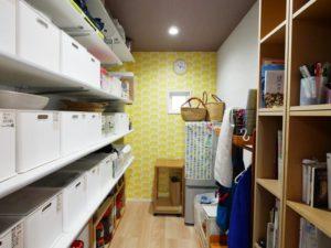 北九州の工務店「パントリーのある家」見学会