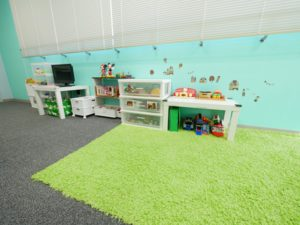 北九州のイーホーム打合せ室キッズスペースの写真