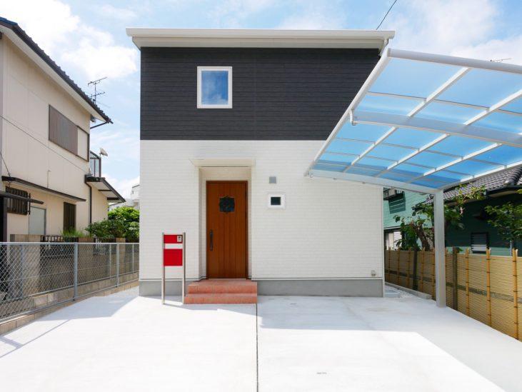 北九州市小倉南区「狭小地に建つ適所収納が光る家」