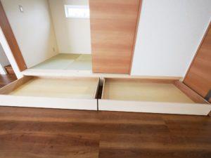 【北九州のイーホーム】小上がり和室収納の施工事例